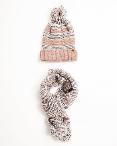 Set van sjaal en muts
